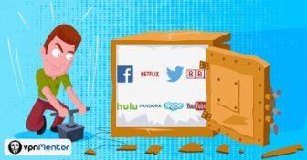 Fjerne Netflix blokkering (hvis du befinner deg ut
