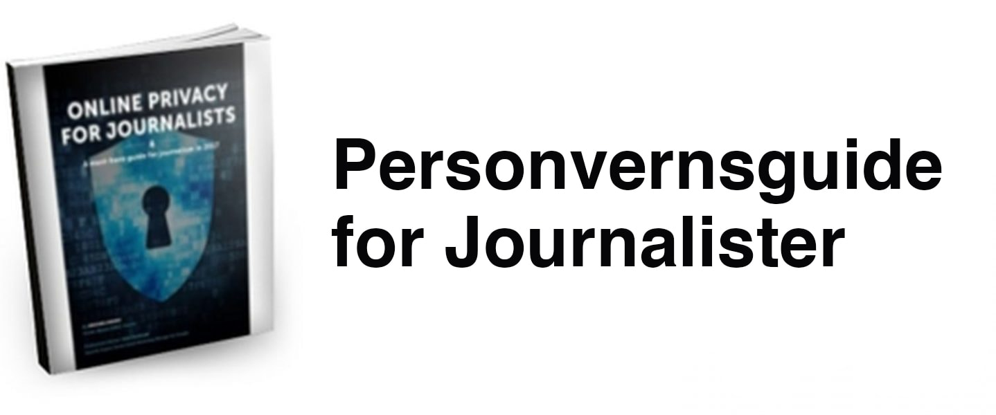 Personvernsguide for Journalister