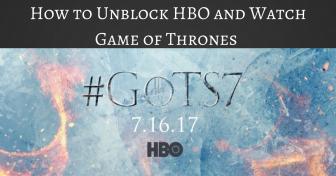 Hvordan fjerne blokkeringen av HBO og se sesong 7 av Game of Thrones