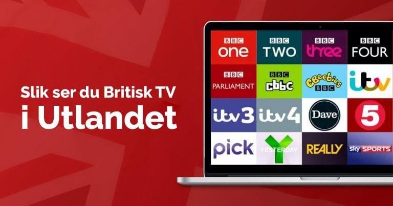 Slik ser du britisk TV i utlandet