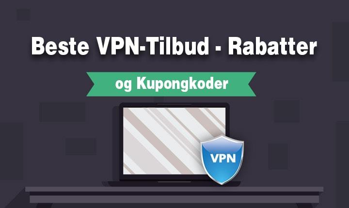 Rabatter og Kupongkoder for VPN