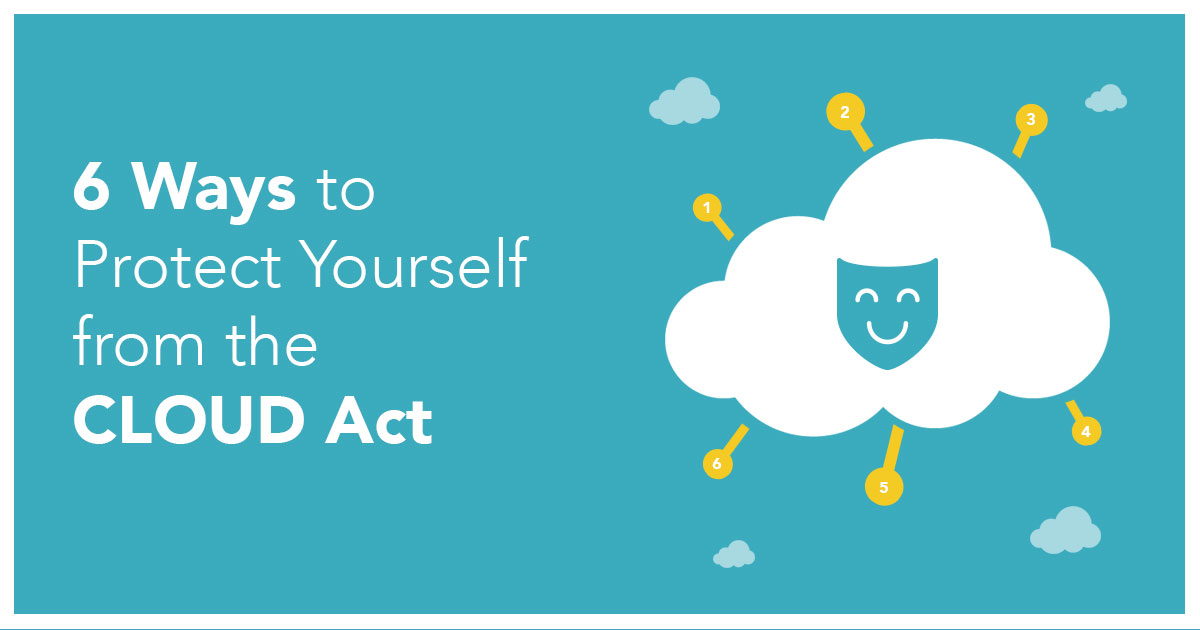 6 Måter å Beskytte Deg Selv Fra CLOUD Act
